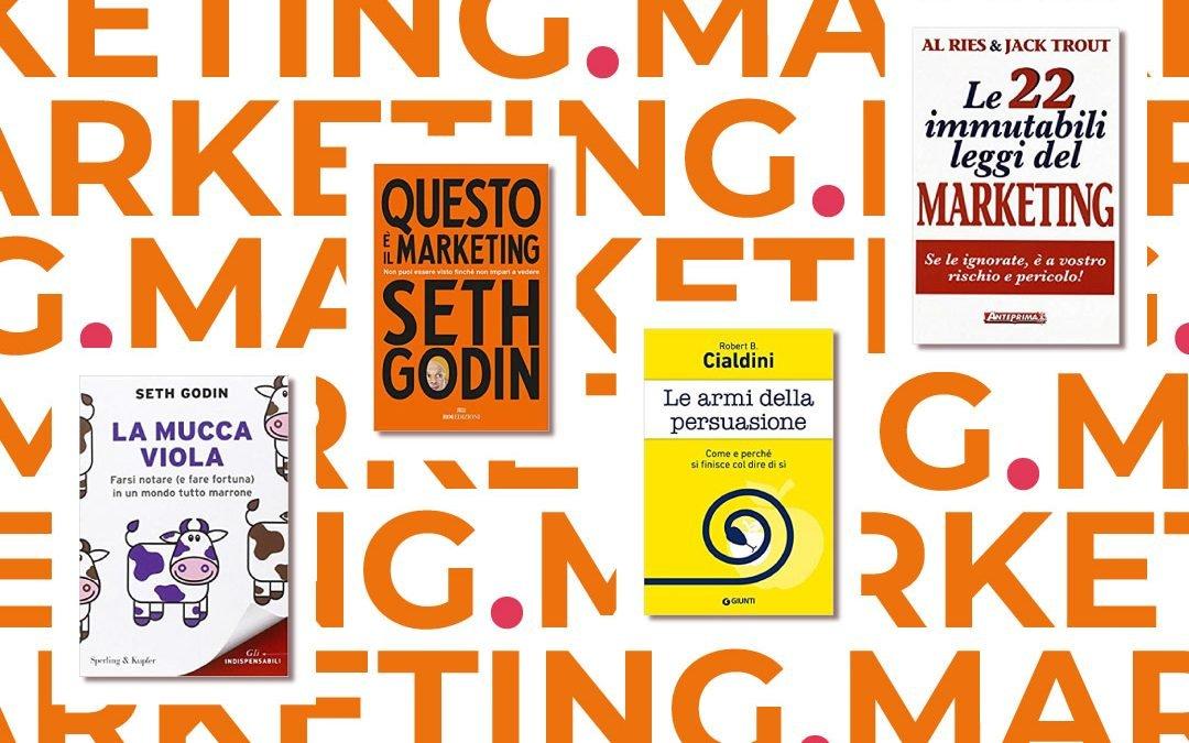 4 libri da leggere per iniziare con il marketing
