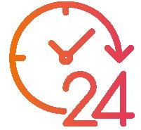 attività aperta 24 ore su 24 con il tuo sito internet