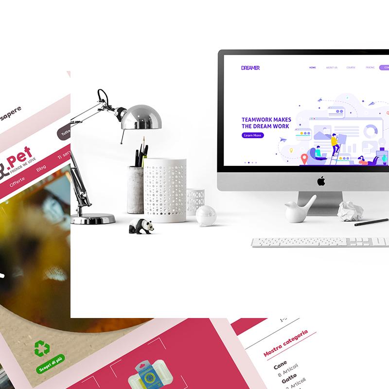 Realizzazione siti web per professionisti e aziende